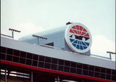 Products american metalcraft for Charlotte motor speedway museum